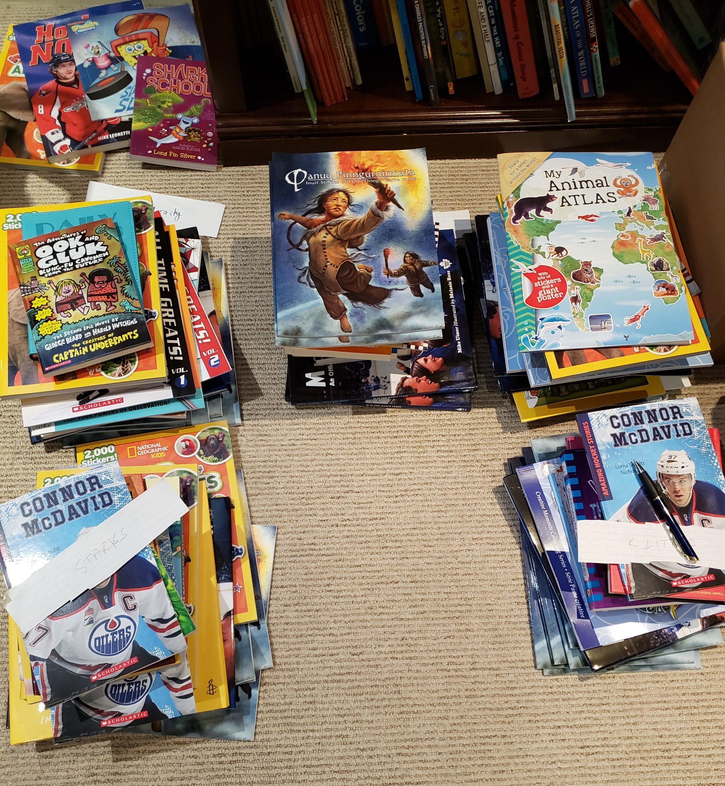 Happy 17,500 brand-new books sent!